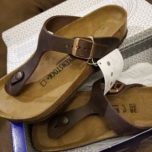 Birkenstock sandals insole leather